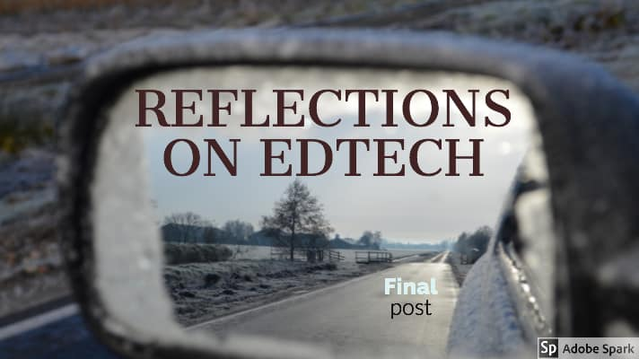 Reflections on edtech