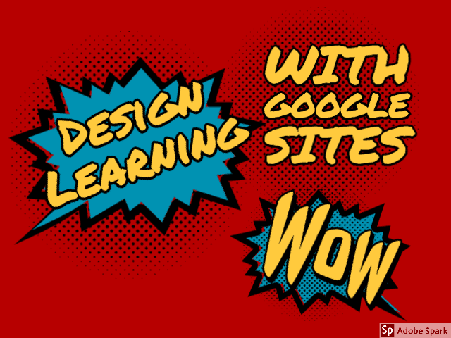 Design Learning with Google sites