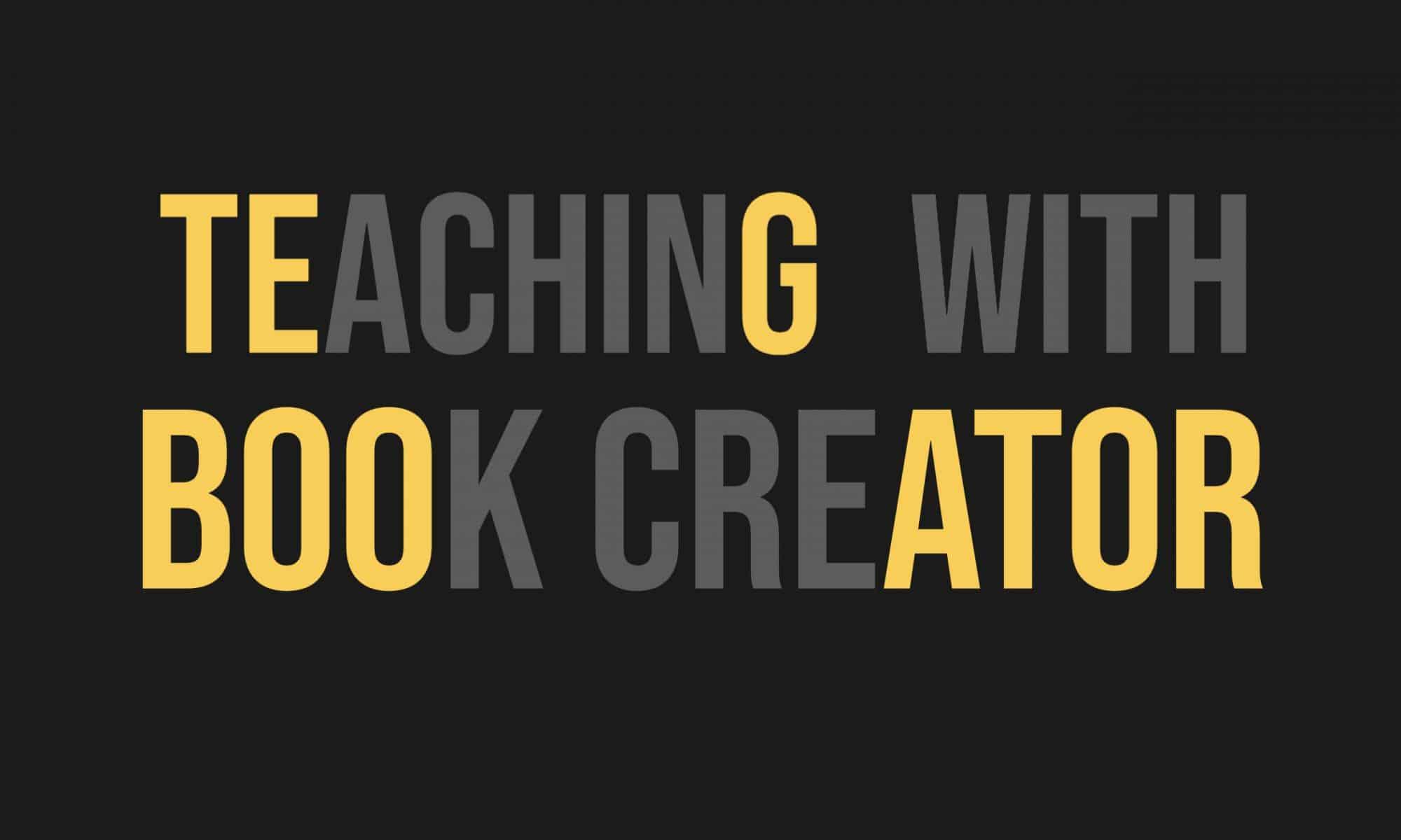 Teaching with Book Creator
