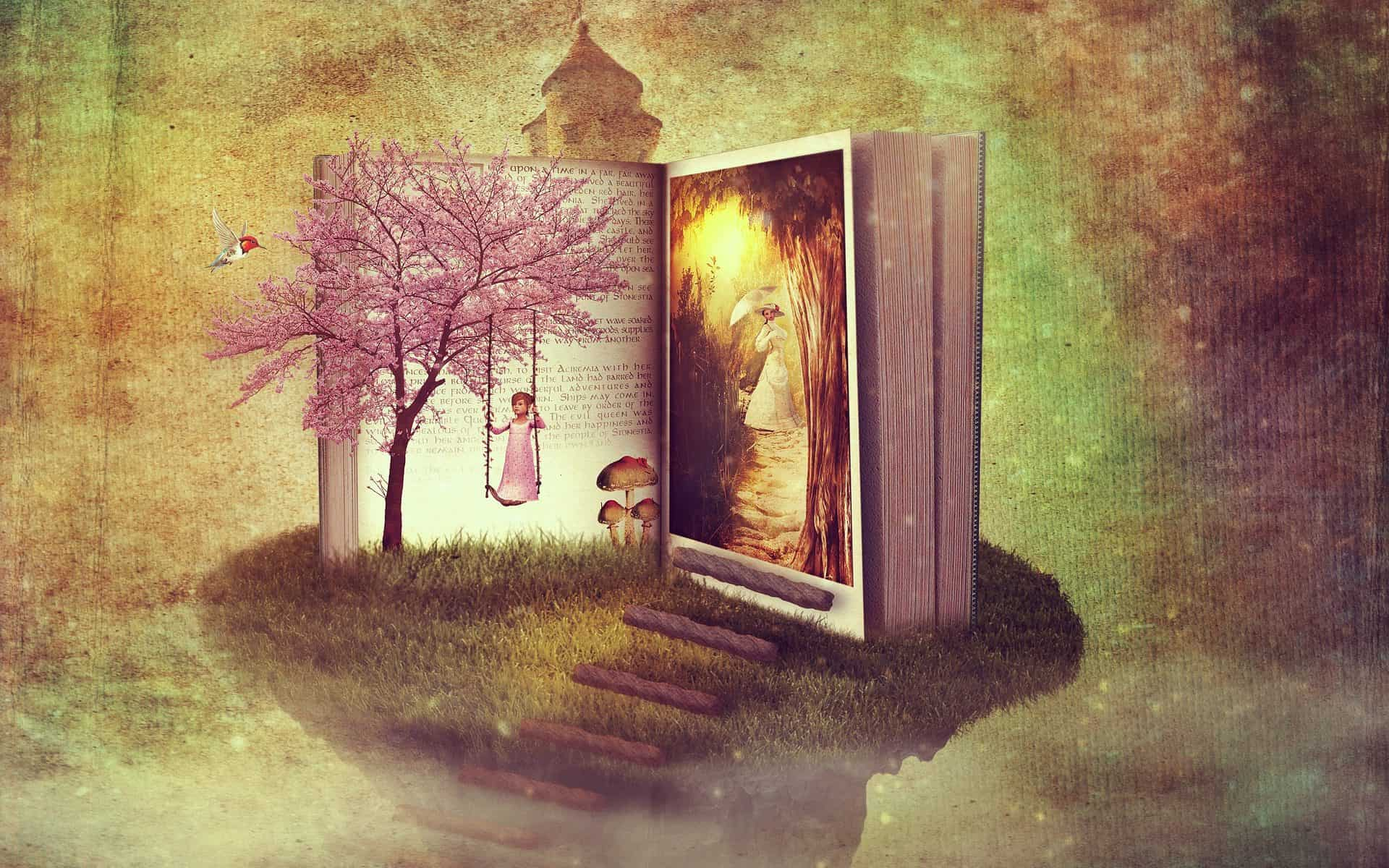 fantasy book image